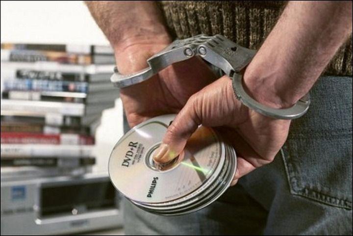 кража авторских прав